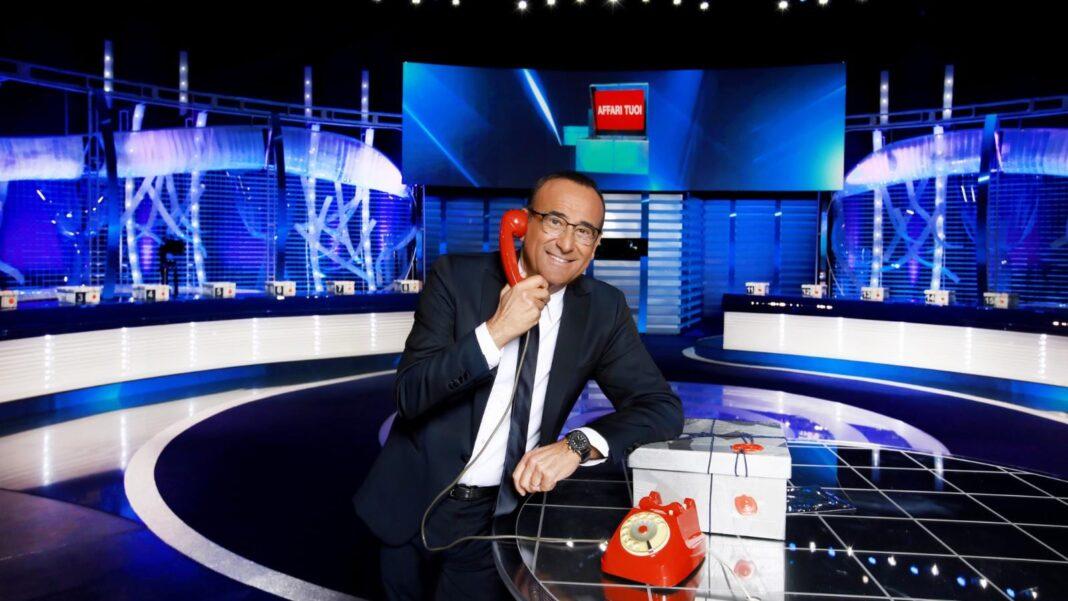 Carlo Conti: stasera Affari tuoi viva gli sposi - ecco chi sono i pacchisti della seconda puntata