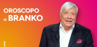 Oroscopo Branko domani