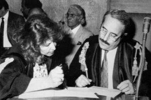 Giovanni Falcone e la moglie Francesca Morvillo, hanno avuto figli?